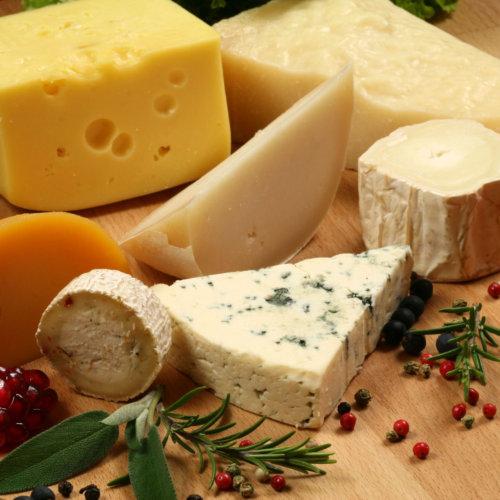 Cheese at Double DD Deli