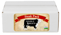 Double DD Steak Pack