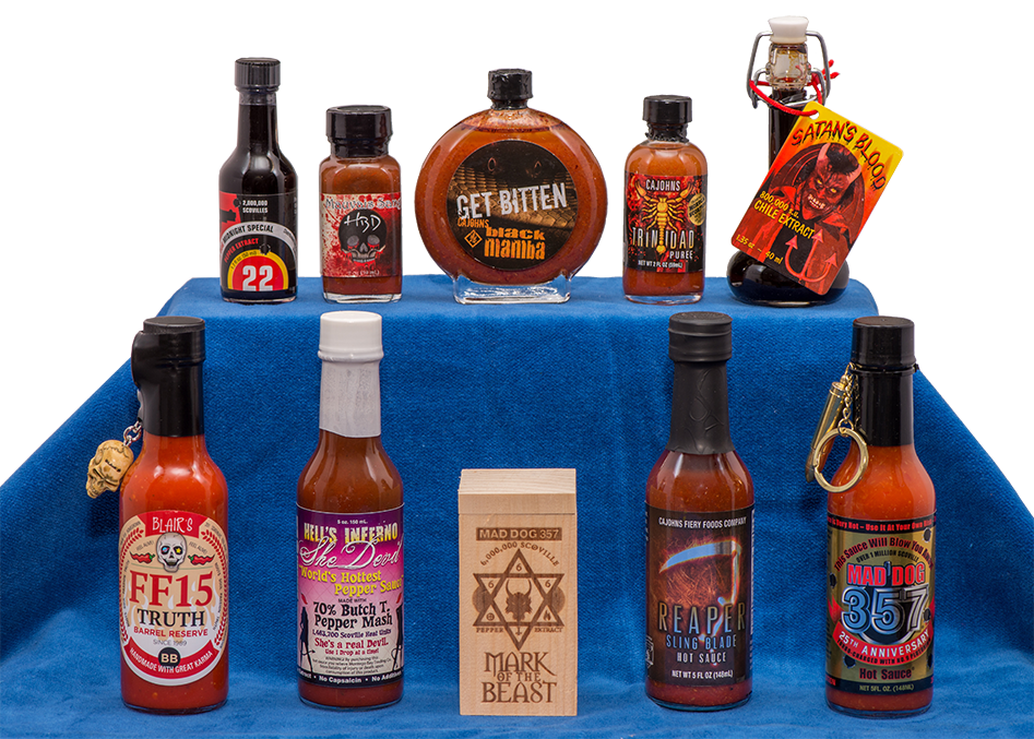 Worlds HOTTEST Sauces